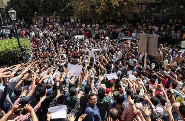 خبز حرية والجزر المصرية شعار الثورة الجديدة
