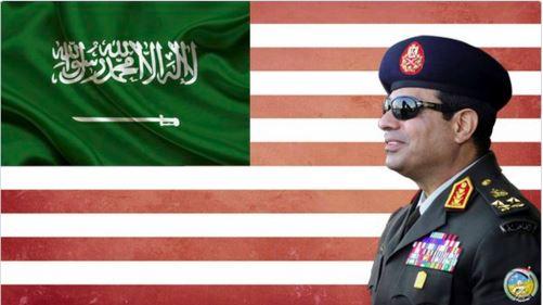 السيسي عميل السعودية ومصر ضعيف وغير آمن