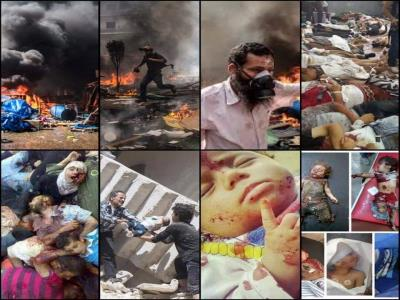 من رابعة الى حلب.. كلهم طغاة