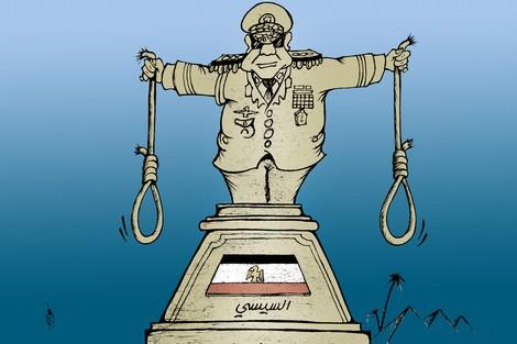 أحكام الإعدام في مصر تضرب الرقم القياسي