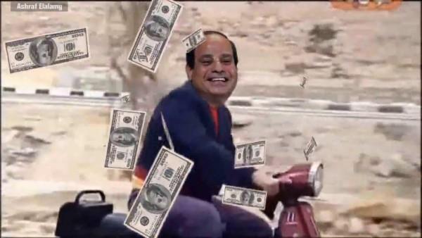 """كذبة اليوم.. """"الدولار"""" ينهار أمام الجنيه بعد تدخل """"السيسي""""!"""