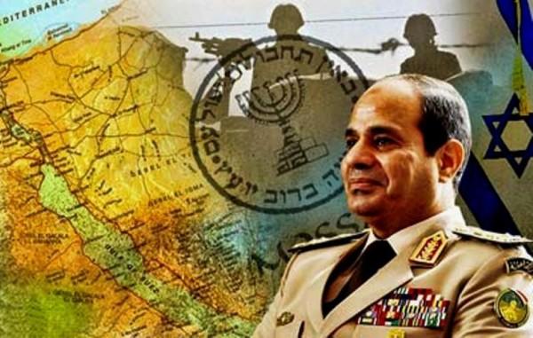 السيسي واسرائيل
