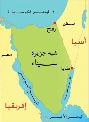 الصهاينة في سيناء وشرطة السيسي تحرسهم