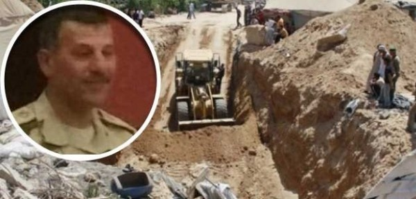 اغتيال عادل رجائي قائد الفرقة 9 مدرعات هادم أنفاق سيناء غزة