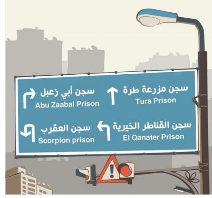 تزايد الانتهاكات بحق المعتقلين بكل مكان في سجون مصر