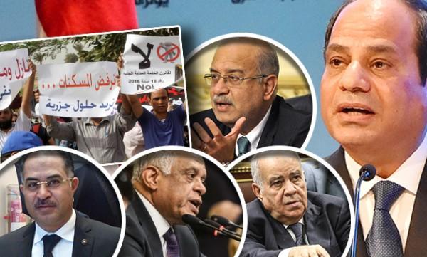 السيسي يستثني نفسه ورئاسة حكومته من الخدمة المدنية