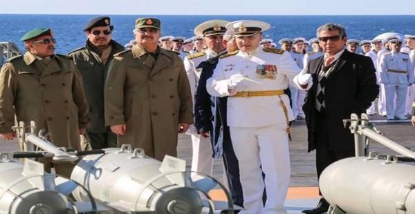 روسيا تستخدم مصر لدعم حفتر