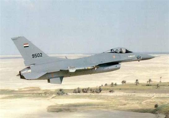الطائرات المصرية تخرج من إسرائيل لضرب سيناء