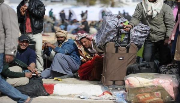 كارثة عودة العمالة المصرية