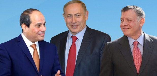 65% من الإسرائيليين يثقون بالسيسي والعاهل الأردني