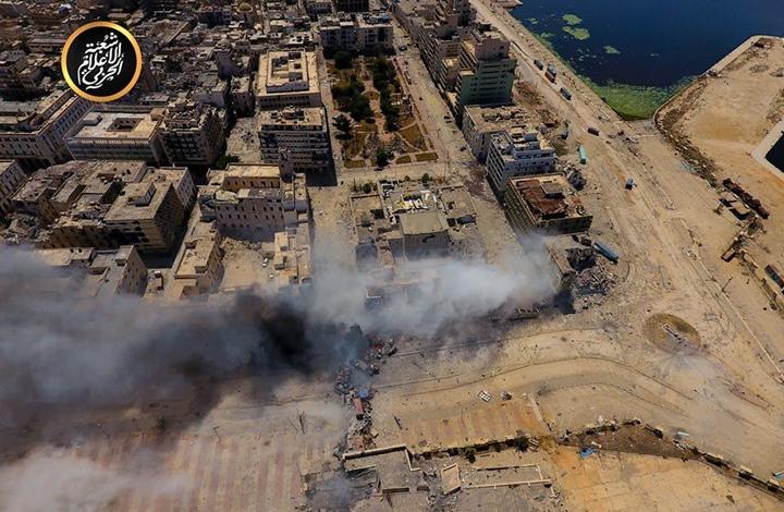 قصف طائرات حربية مصرية  لـ بنغازي