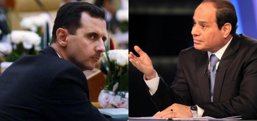 النظام السوري: السيسي حريص على التقارب معنا