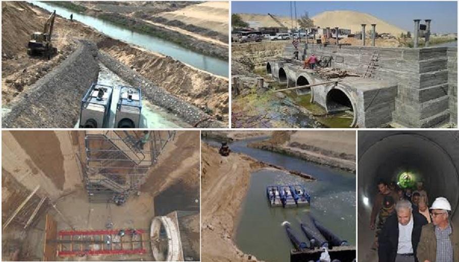 انفاق السيسي لتوصيل النيل لاسرائيل