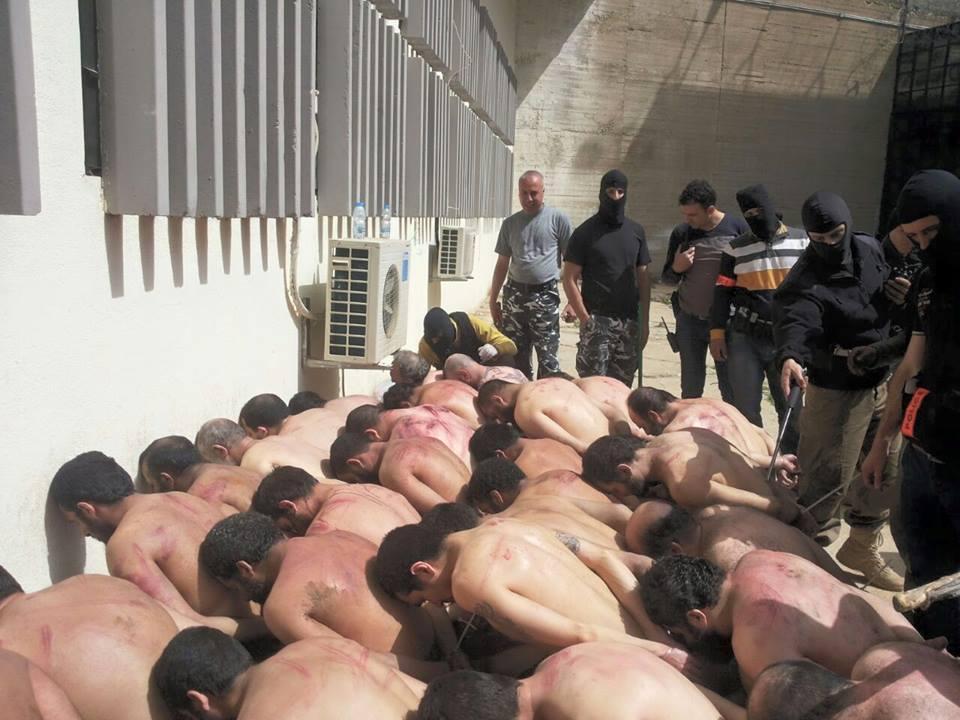 التعذيب داخل سجن رومية والجسد اللبناني عاريا