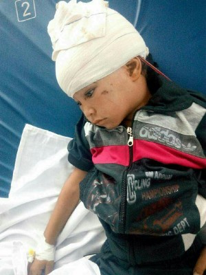 إحدى الأطفال ضحايا محزرة للجيش في سيناء