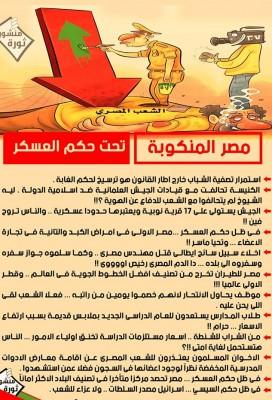 مصر المنكوبة