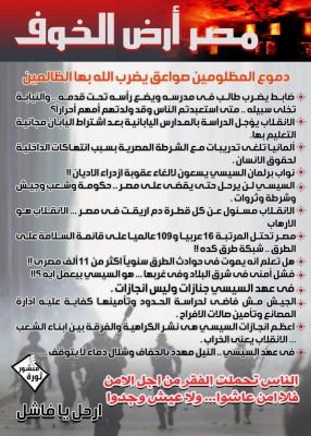 مصر الخوف
