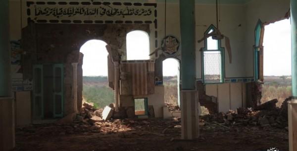 جيش السيسي يهدم مسجد أبو زريق بسيناء