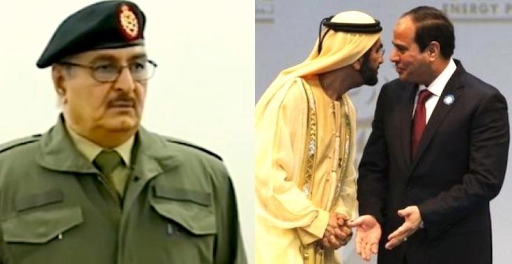 8433f39430a94 مصر والإمارات تغسلان سمعة سيف القذافي بديلاً عن حفتر بليبيا
