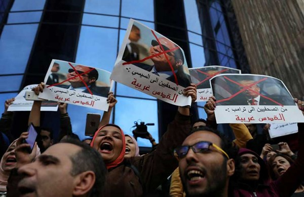 المصريون تحدَّوا تعليمات السيسي بقمع مظاهرات دعم القدس