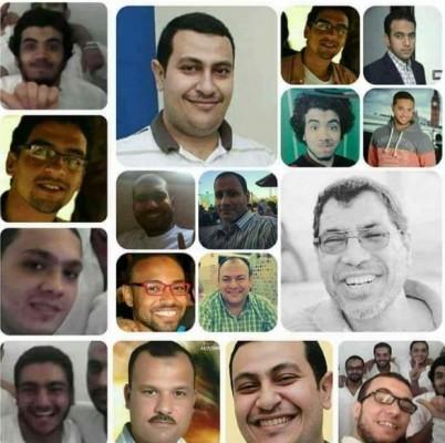 أحكام بالمؤبد و10 أعوام على معتقلي 175 عسكرية