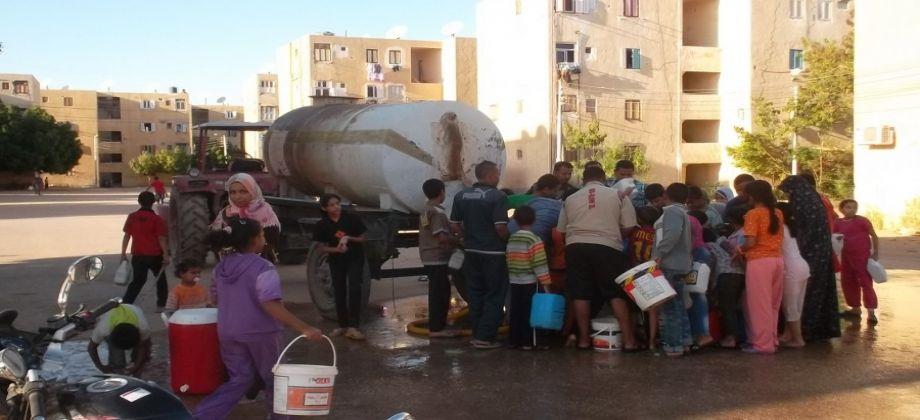 العطش يواصل الزحف على مصر