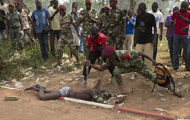 قتل أفريقيا الوسطى