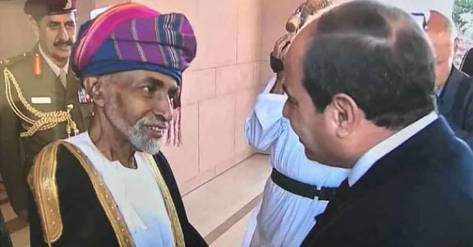 السيسي يعرض على قابوس مقترحاً لحل أزمة اليمن لصالح السعودية
