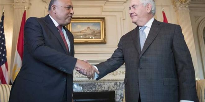 وزيري خارجية امريكا ومصر