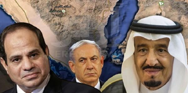 حلف مصري إسرائيلي سعودي