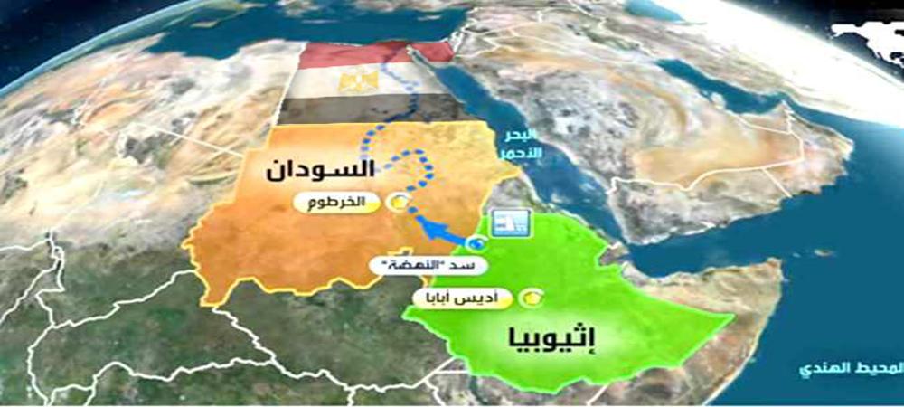 تدمير مصر سد