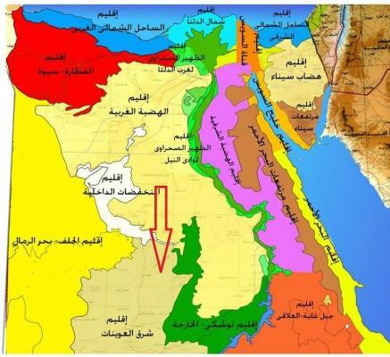 السيسي يتنازل عن 180 ألف فدان بشرق العوينات لحيتان الخليج
