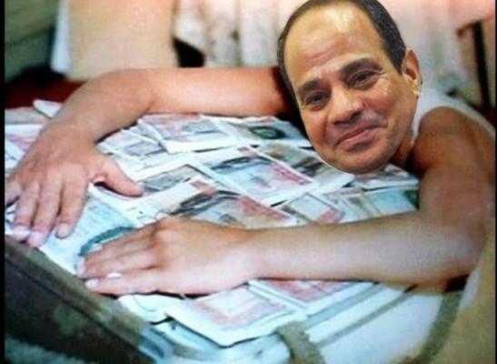 السيسي يستولي على 16.2 مليار جنيه من البنوك