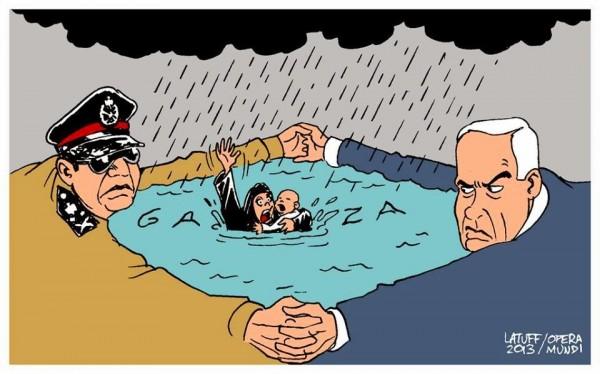 حصار السيسي وإسرائيل أوقف 95% من مصانع غزة
