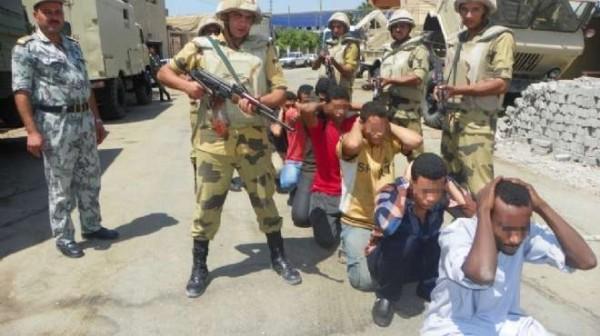 ميليشيات السيسي تواصل حملات الاعتقال في شمال سيناء