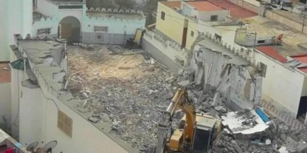 هدم مسجد الاسكندرية