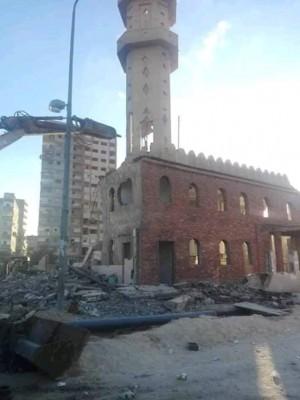 هدم مسجد2