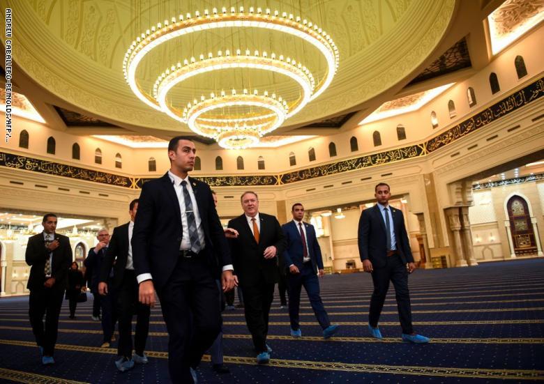 6e92fcb6a07f2 وزير خارجية أمريكا من القاهرة  مصالحنا أولًا ولا نعبأ بانتهاكات حقوق  الإنسان في مصر