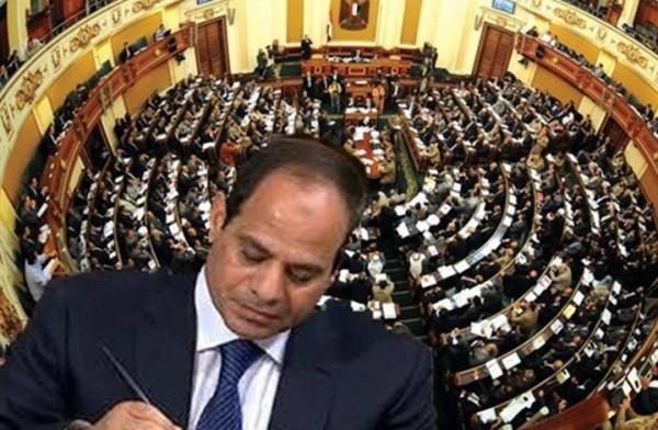 برلمان الانقلاب يتحرك رسميًّا لترقيع الدستور من أجل بقاء الطاغية حتى 2034