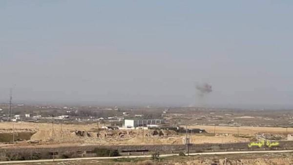 طائرات الاحتلال الصهيوني تهاجم رفح المصرية