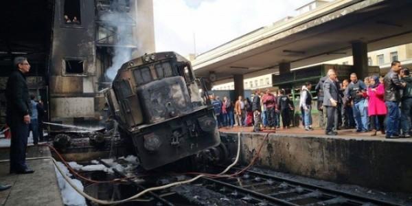 قطار محطة رمسيس ووقوع قتلى وجرحى