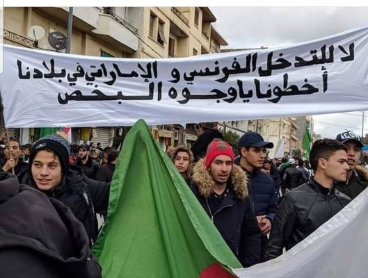 التدخل الجزائر
