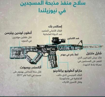 سلاح منفذ الهجوم