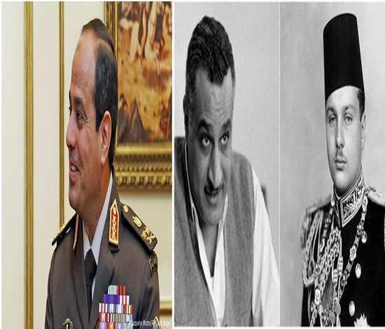 488619bfab87e الملك فاروق رفض بيع سيناء والعسكر يهللون لصفقة القرن