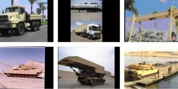 السيسي والعصار وميشيل عصابة الانقلاب العسكرية لبيع ما تبقى من خطوط الإنتاج الحربي