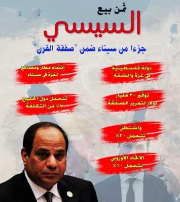 السيسي بيع سيناء