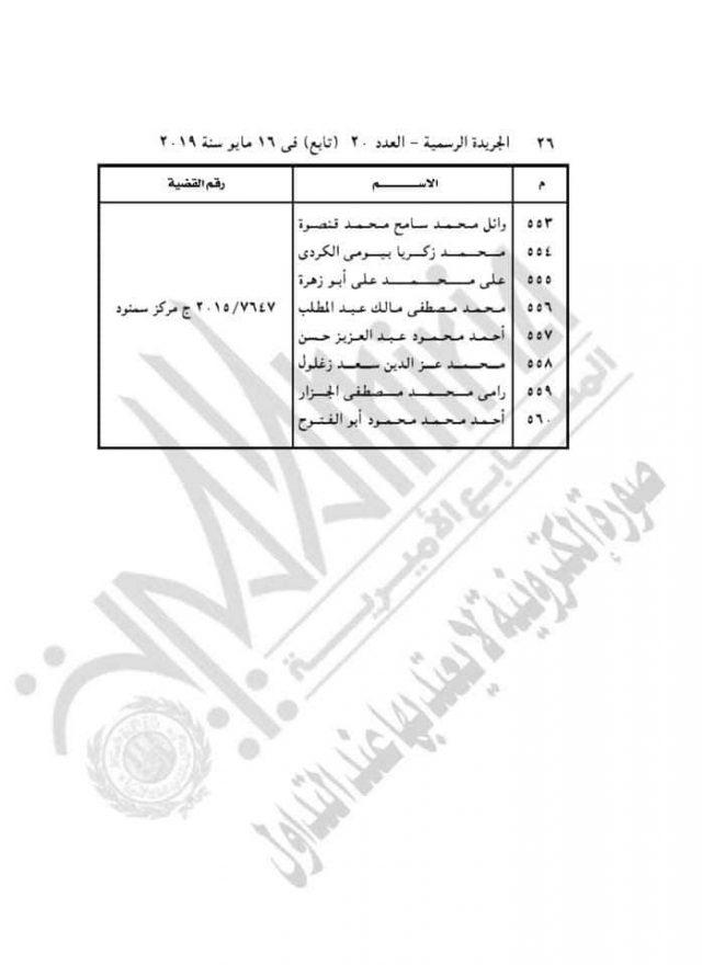6ca42a7da1514 أسماء الضباط القتلة في كشف مرسوم العفو
