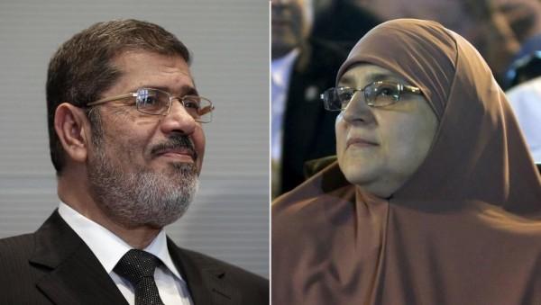 زوجة مرسي للشباب: لا تضيّعوا دم الرئيس ولا تتوقّفوا عن المطالبة بدمه