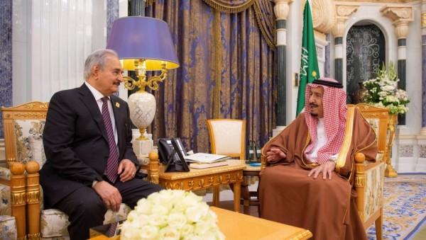 محور الشر العربي في دعم حفتر