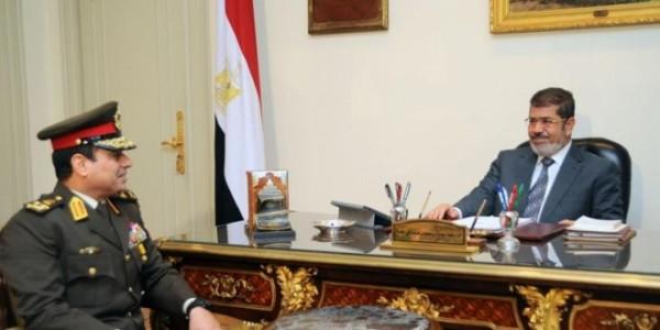 حقيبة مرسي وخيانة السيسي لجيشه بسيناء